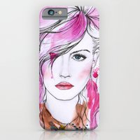 iPhone & iPod Case featuring Charlotte Free by Vicky Ink.