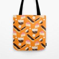 sweet things (on orange) Tote Bag