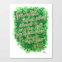 Natural Resources - Zig … Canvas Print