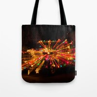 Candy Cane Lane Chevy Tr… Tote Bag