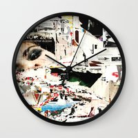 Collide 1 Wall Clock