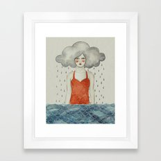 Aglaura Framed Art Print