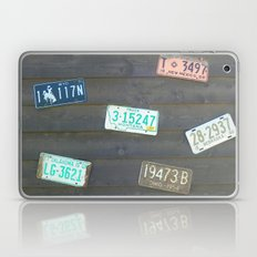 These Old Plates Laptop & iPad Skin