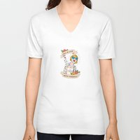 Fall in love with yourself Unisex V-Neck