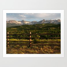 Rocky Mountain Grandeur Art Print