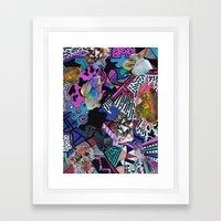 RADICAL ▲  SYNTHIA  Framed Art Print