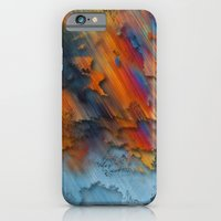 Diagonal Rainbow Redux iPhone 6 Slim Case