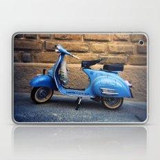 Blue Vespa, Italy Laptop & iPad Skin