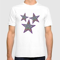 Garden of Jewels Mens Fitted Tee White SMALL