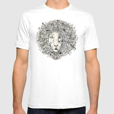 The King's Awakening Mens Fitted Tee White SMALL