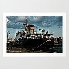 Coastguard Art Print
