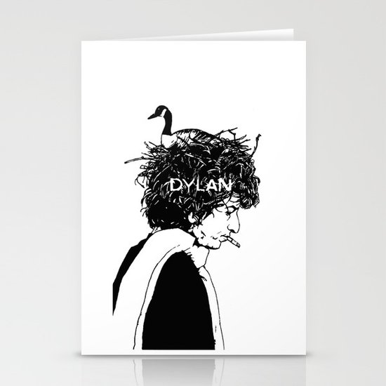 Dylan Stationery Card