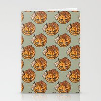 Trick Or Treat? - Patter… Stationery Cards