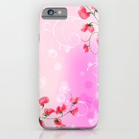 iPhone & iPod Case featuring LIKE A FLOWER XXIX by Ylenia Pizzetti