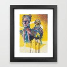 The Melting Doge Framed Art Print