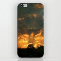 Cloud Interference  iPhone & iPod Skin