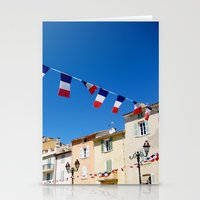 St. Tropez, Côte d'Azur French Riviera Stationery Cards