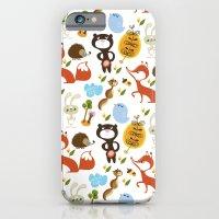 Fox, bear and rabbit iPhone 6 Slim Case
