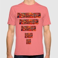 Sun Mens Fitted Tee Pomegranate SMALL