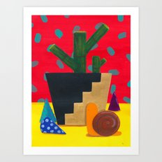 Imaginary Still Life 3 Art Print