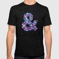 Ampersand Mens Fitted Tee Tri-Black SMALL