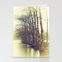Natures Winter Slumber Stationery Cards