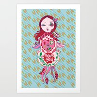 Cuckoo For You. Art Print