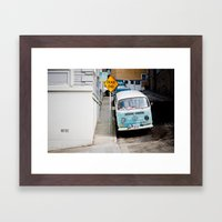 Hippie Framed Art Print