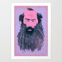 Rick Rubin Art Print