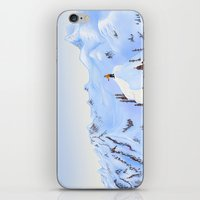 Winter Flight - Drawing 2 iPhone & iPod Skin