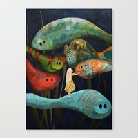 My Fascinating Friends Canvas Print