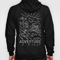TIME FOR ADVENTURE (BW) Hoody