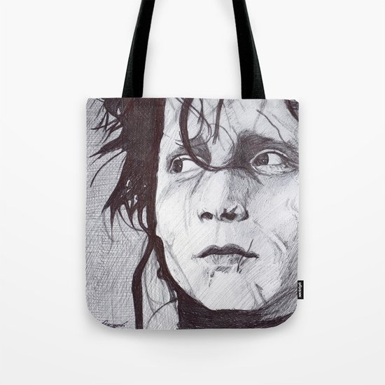 Edward Scissorhands   Tote Bag