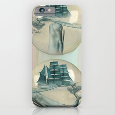 The Battle - Captain Ahab and Moby Dick iPhone 6s Slim Case