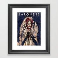 Baroness And Royal Thund… Framed Art Print