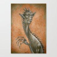 Medieval Monster VII Canvas Print