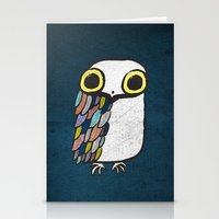 Wise Little Owl Stationery Cards