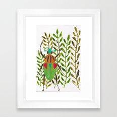 Nydia Framed Art Print