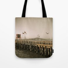 View of Alcatraz - The Rock Tote Bag