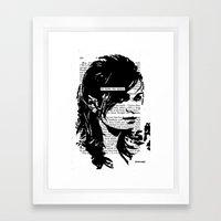 He Broke The Silence Framed Art Print