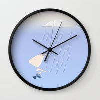 Droplet Boy Wall Clock