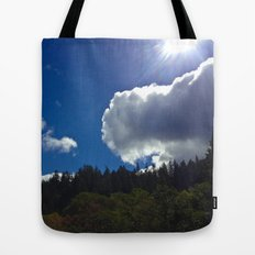 Sunny Clouds Tote Bag