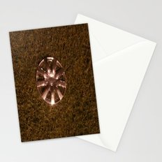 Wheel Lay On The Lawn Stationery Cards