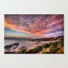 32 Bit True Color Canvas Print