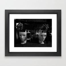 MASKS Framed Art Print