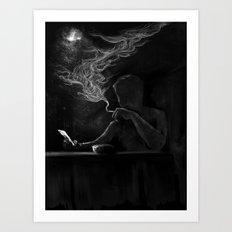 Twisted Reflection Art Print