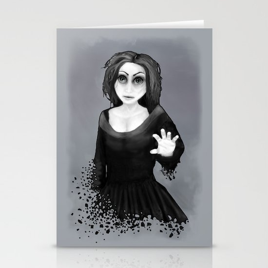 Disintegration Stationery Card
