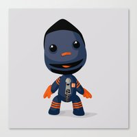Sackboy (Henry Melton) Canvas Print