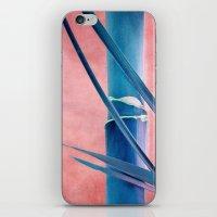 BAMBOU BLEU iPhone & iPod Skin