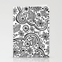 Pattern Cloud Stationery Cards